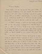 EFA MACED 1-1935-1936 : Travaux de nettoyage et de nivellement du site : extrait du rapport manuscrit de J. Roger, 15 juin 1936.