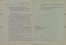 EFA 1 ADM n. c. : Lettre de R. Demangel à l'attaché chef du poste naval et militaire près la Légation de France à Athènes, 23 août 1940.