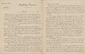 EFA CHYPRE 2 : Lettre d'E. de Castillon Saint-Victor à G. Radet (p. 5-6), 28 juillet 1886.