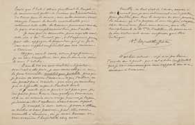 EFA CHYPRE 2 : Lettre d'E. de Castillon Saint-Victor à G. Radet (p. 7-8), 28 juillet 1886.