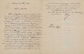 EFA CHYPRE 3 : Lettre de Tano à Th. Homolle, 17 décembre 1895.