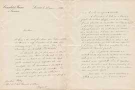 EFA CHYPRE 3 : Lettre d'É. Boysset à Ch. Fossey (p. 1-2), 27 mai 1896.