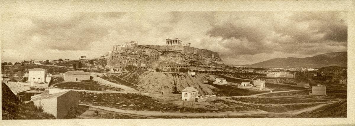 Athènes et l'Acropole, fin XIXe s. – début XXe s. Η Αθήνα και η Ακρόπολη, τέλη 19ου - αρχές 20ου αι. / J. Chamonard, EFA FJC P 13