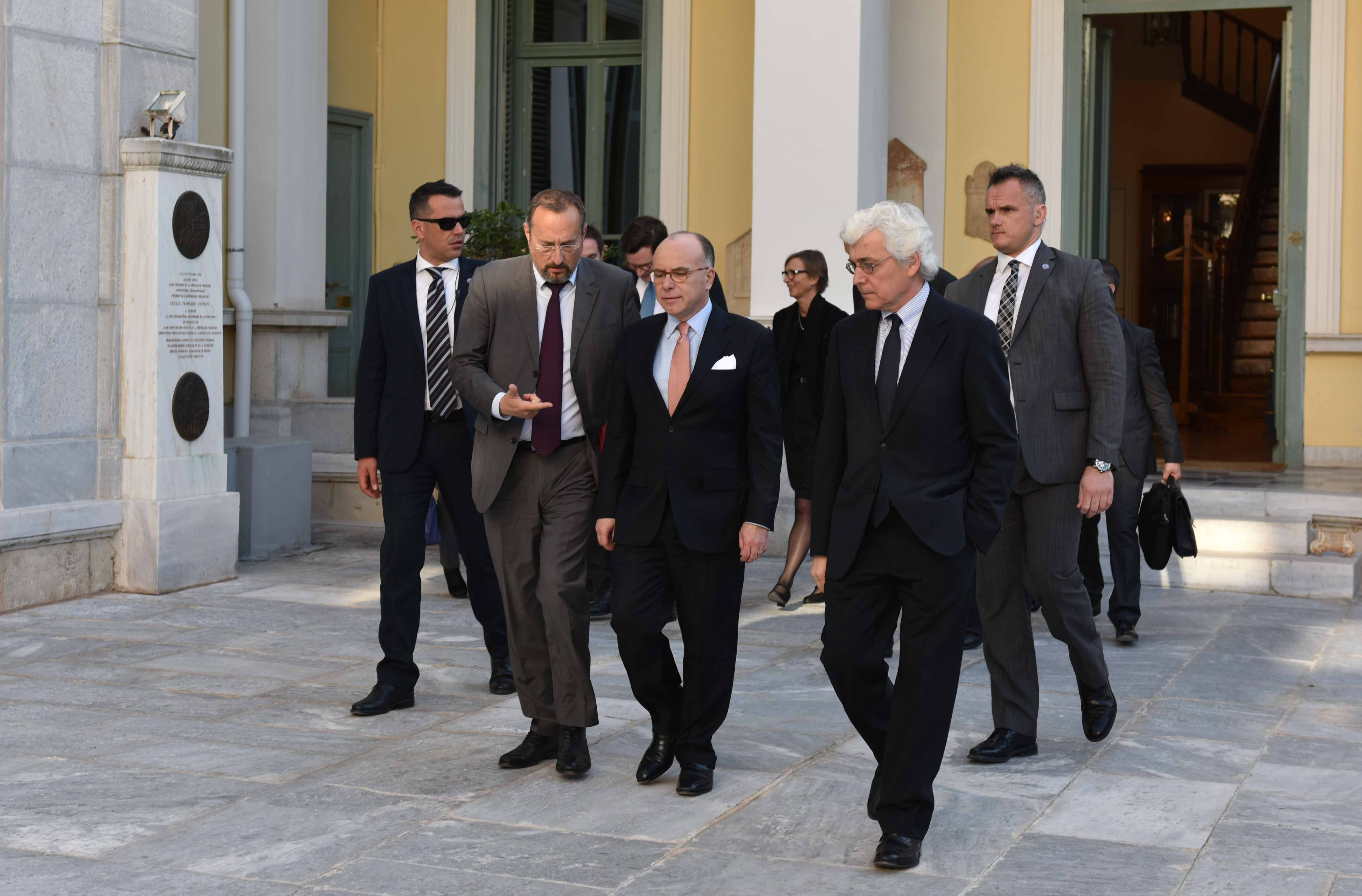 Visite du Premier Ministre français © EFA, E. Miari