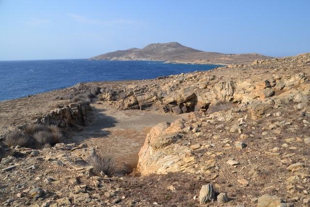 Une carrière de gneiss dans la presqu'île de Patinioti, ©EFA, JCh_Moretti