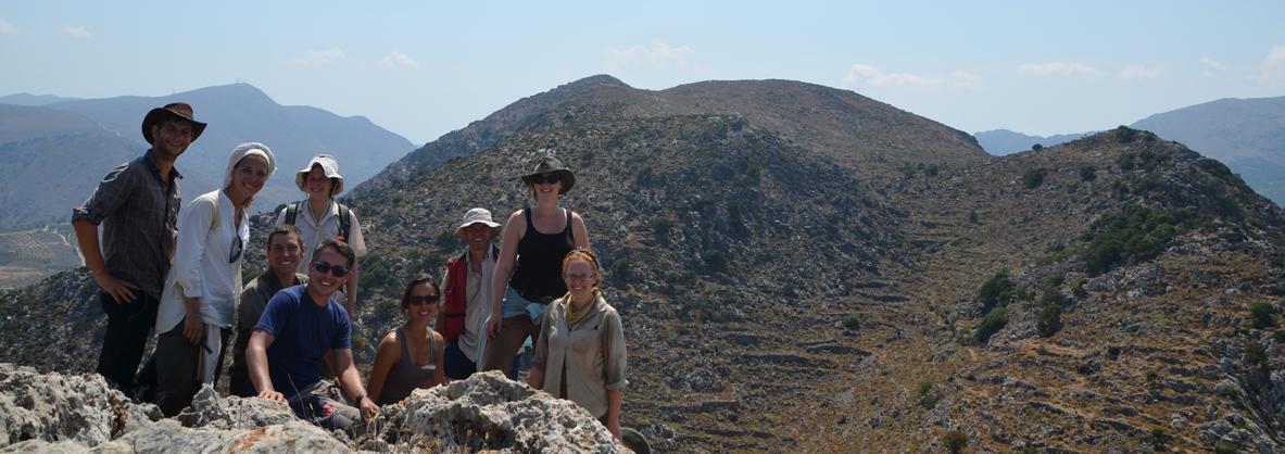 L'équipe au sommet du Pic Nord-Ouest, © Mission Anavlochos