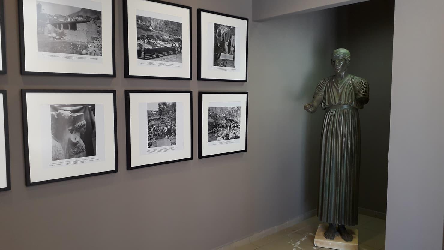 La petite exposition thématique du Musée de Delphes