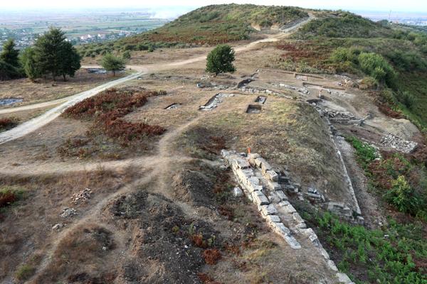 Apollonia, le secteur de la porte nord-est et l'acropole nord