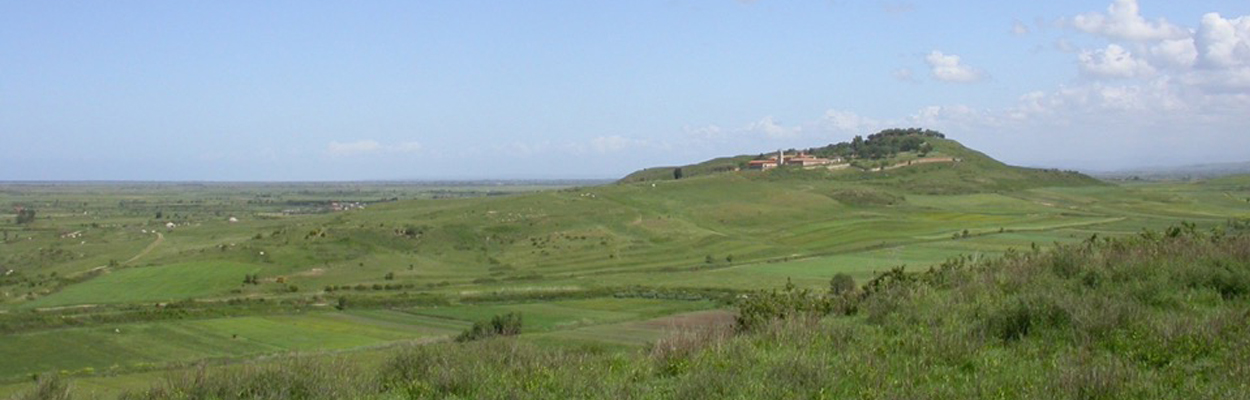 Vue générale d'Apollonia