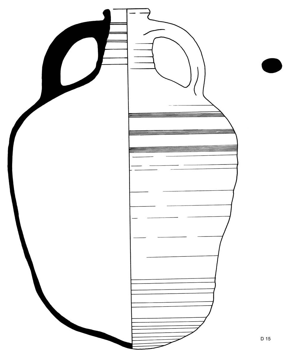 Amphore paléochrétienne (S. Hartmann / Archives EFA, 12547 [8])